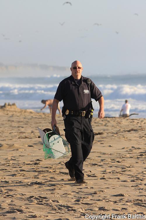 Peninsula Humane Officer, Brian Schenck, Half Moon Bay, Venice Beach