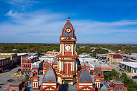 The Caldwell County Courthouse is a marvelous example of the architecture of Texas County Clock Tower and Courthouse. Built in 1894, the building is an historical landmark that has been beautifully maintained over its long life. When in Lockhart, take a little while to visit this Texas treasure. show less.