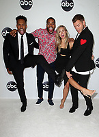 BEVERLY HILLS, CA - August 7: Wills Reid, Eric Bigger, Kendall Long, Colton Underwood, at Disney ABC Television Hosts TCA Summer Press Tour at The Beverly Hilton Hotel in Beverly Hills, California on August 7, 2018. <br /> CAP/MPI/FS<br /> &copy;FS/MPI/Capital Pictures