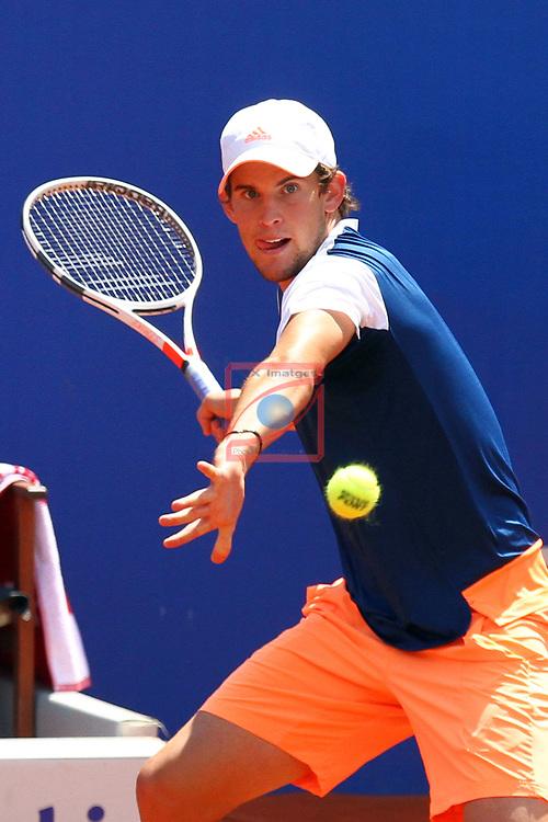 65e Trofeu Conde de Godo.<br /> Barcelona Open Banc Sabadell.<br /> Andy Murray (GBR) vs Dominic Thiem (AUT): 2-6, 6-3, 4-6.
