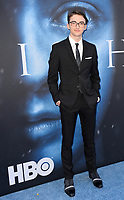 Isaac Hempstead Wright at the season seven premiere for &quot;Game of Thrones&quot; at the Walt Disney Concert Hall, Los Angeles, USA 12 July  2017<br /> Picture: Paul Smith/Featureflash/SilverHub 0208 004 5359 sales@silverhubmedia.com