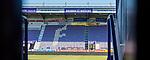 22.03.2020, Stadion an der Bremer Brücke, Osnabrück, Rund um das Stadion an der Bremer Brücke<br /> <br /> <br /> im Bild<br /> Leere Norttribüne. Feature / Symbol / Symbolfoto / charakteristisch / Detail<br /> <br /> Foto © nordphoto / Paetzel