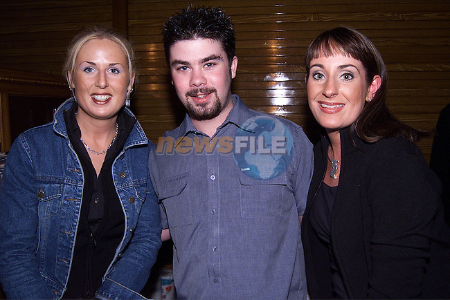 Martina Smith, Karl Tormey and Nicola Briscoe at the official opening of Peter Matthews Off Licience..Picture: Paul Mohan/Newsfile
