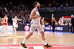 Real Madrid's Sergio Llull during Turkish Airlines Euroleage match between Real Madrid and EA7 Emporio Armani Milan at Wizink Center in Madrid, Spain. January 27, 2017. (ALTERPHOTOS/BorjaB.Hojas)
