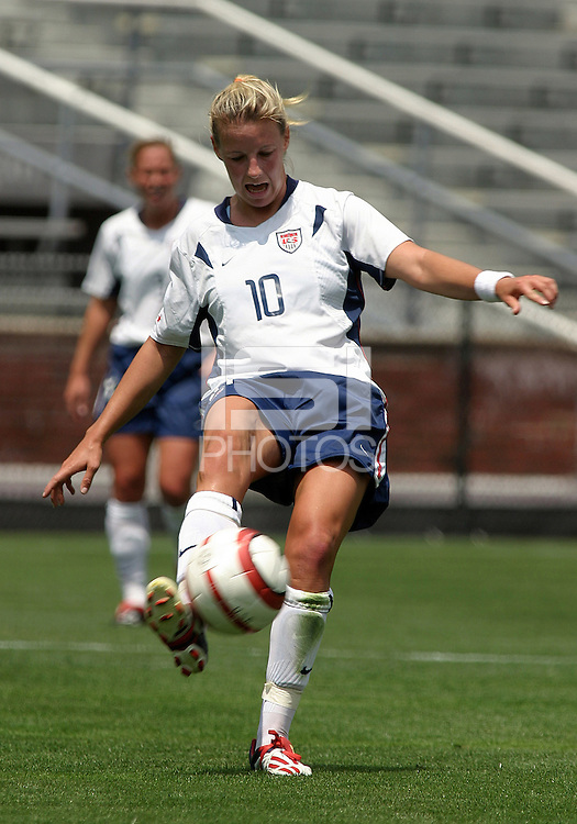 Ally Wagner.US Women's National Team vs Brazil at Legion Field in Birmingham, Alabama.