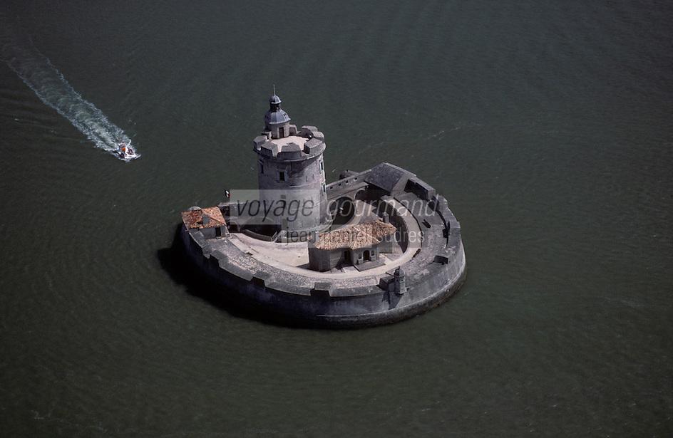 Europe/France/Poitou-Charentes/17/Charente-Maritime/Ile d'Oléron : Fort du Chapus ou fort Louvois - Vué aérienne