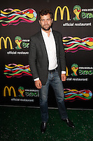 New York, NY -  June 5 : Joshua Jackson attends the 2014 FIFA World Cup McDonald's Launch Party at Pillars 38 on June 5, 2014 in New York City. Photo by Brent N. Clarke / Starlitepics