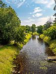 Rzeka Marycha w Sejnach, Polska<br /> Marycha river in Sejny, Poland