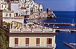 Hotel Bussola in Amalfi along the Italian Riviera.