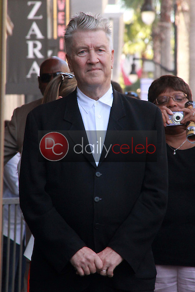 David Lynch<br /> at Sissy Spacek's induction into the Hollywood Walk of Fame, Hollywood Blvd, Hollywood, CA. 08-01-11<br /> David Edwards/DailyCeleb.com 818-249-4998