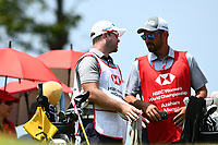 SINGAPORE - MARCH 02: Caddies on the 6th tee during the third round of the HSBC Women's World Championship 2019 at Sentosa Golf Club - Tanjong Course, Singapore on March 02, 2019.<br /> .<br /> .<br /> .<br /> (Photo by: Naratip Golf Srisupab/SEALs Sports Images)<br /> .<br /> Any image use must include a mandatory credit line adjacent to the content which should read: Naratip Golf Srisupab/SEALs Sports Images