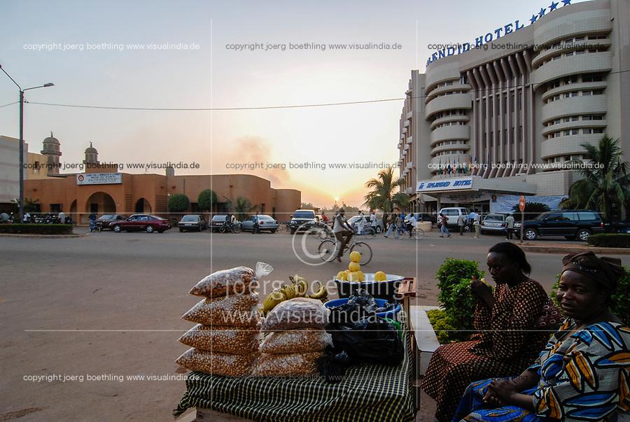 Burkina Faso, Ouagadougou, Splendid Hotel, was 2016 a target of a islamist  terror attack