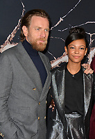 "LOS ANGELES, USA. October 30, 2019: Ewan McGregor & Kyliegh Curran  at the US premiere of ""Doctor Sleep"" at the Regency Village Theatre.<br /> Picture: Paul Smith/Featureflash"