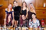 Alpha Flight Guru Tralee staff enjoying their Christmas party in Scotts Hotel on Saturday night front row l-r: Danielle McGrath, Rebecca Griffin, Kathleen Mckenna. Back row: Kathy gerathy, Niamh Walsh, Ciara McCarthy, Liz Hayes