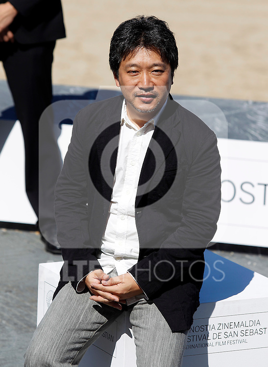Japanese director Hirokazu Kore-Eda after the screening of their film 'Kiseki' (I Wish) during the 59th San Sebastian Donostia International Film Festival - Zinemaldia.September 20,2011.(ALTERPHOTOS/ALFAQUI/Acero)