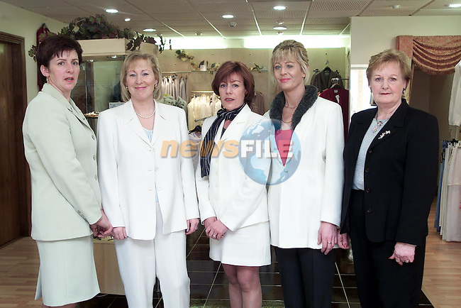 Carmel Walsh, Mary Lambe, Joan McDonnell, Mary Boyle and Francis Sheridan of Unique..Picture Paul Mohan Newsfile