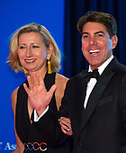 Caroline Decker, left, and Fox Radio correspondent Jon Decker arrives for the 2018 White House Correspondents Association Annual Dinner at the Washington Hilton Hotel on Saturday, April 28, 2018.<br /> Credit: Ron Sachs / CNP<br /> <br /> (RESTRICTION: NO New York or New Jersey Newspapers or newspapers within a 75 mile radius of New York City)