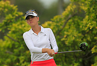 Jessica Korda (USA) in action on the 3rd during Round 2 of the HSBC Womens Champions 2018 at Sentosa Golf Club on the Friday 2nd March 2018.<br /> Picture:  Thos Caffrey / www.golffile.ie<br /> <br /> All photo usage must carry mandatory copyright credit (&copy; Golffile | Thos Caffrey)