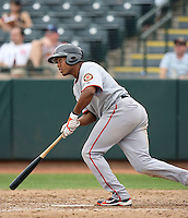 Thomas Neal - Scottsdale Scorpions, 2009 Arizona Fall League.Photo by:  Bill Mitchell/Four Seam Images..
