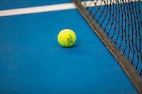 Hilversum, The Netherlands, March 12, 2016,  Tulip Tennis Center, NOVK, Dunlop tennisbal <br />  on Plesxipave<br /> Photo: Tennisimages/Henk Koster