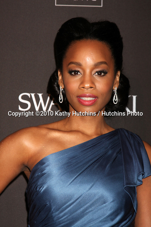 Anika Noni Rose.arriving at the 2010 Costume Designer's Guild Awards.Beverly Hilton Hotel.Beverly Hills, CA.February 25, 2010.©2010 Kathy Hutchins / Hutchins Photo....