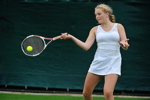 HSBC Road to Wimbledon 2013. Katie Fuller