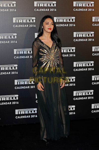 LONDON, ENGLAND - NOVEMBER 30:  Yao Chen attending Gala Evening To Celebrate The Pirelli Calendar 2016 By Annie Leibovitz at Camden Roundhouse on November 30, 2015 in London, England.<br /> CAP/MAR<br /> &copy; Martin Harris/Capital Pictures
