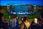Concerto di Trentemoller nella serata Night Safari al bioparco Zoom di Piscina. Giugno 2014