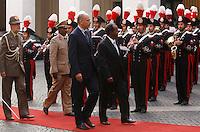20130918 ROMA-ESTERI: LETTA INCONTRA IL PRESIDENTE SOMALO SHEIKH MOHAMUD