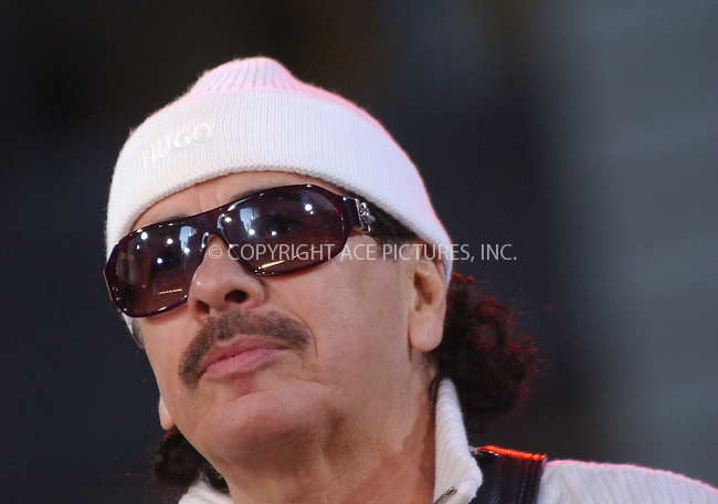 WWW.ACEPIXS.COM . . . . . ....November 3 2005, New York City....Carlos Santana performing at Good Morning America's30th Anniversary block party celebration in Times Square, New York....Please byline: KRISTIN CALLAHAN - ACE PICTURES.. . . . . . ..Ace Pictures, Inc:  ..Philip Vaughan (212) 243-8787 or (646) 769 0430..e-mail: info@acepixs.com..web: http://www.acepixs.com