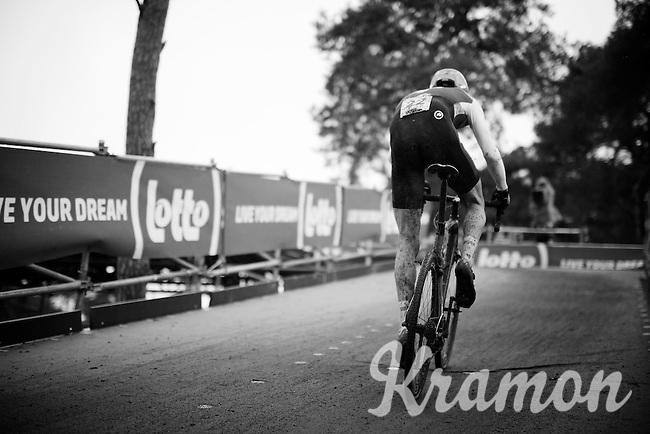 up the bridge<br /> <br /> Men's Elite Race<br /> <br /> UCI 2016 cyclocross World Championships,<br /> Zolder, Belgium