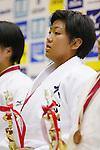 Nami Nabekura, September 14, 2014 - Judo : All Japan Junior Judo Championships Women's -63kg victory ceremony at Saitama Prefectural Budokan, Saitama, Japan. (Photo by Yusuke Nakanishi/AFLO SPORT) [1090]