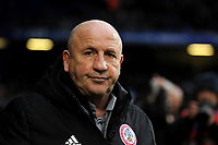 Accrington Stanley manager John Coleman <br /> <br /> Photographer Hannah Fountain/CameraSport<br /> <br /> The EFL Sky Bet League One - Ipswich Town v Accrington Stanley - Saturday 11th January 2020 - Portman Road - Ipswich<br /> <br /> World Copyright © 2020 CameraSport. All rights reserved. 43 Linden Ave. Countesthorpe. Leicester. England. LE8 5PG - Tel: +44 (0) 116 277 4147 - admin@camerasport.com - www.camerasport.com