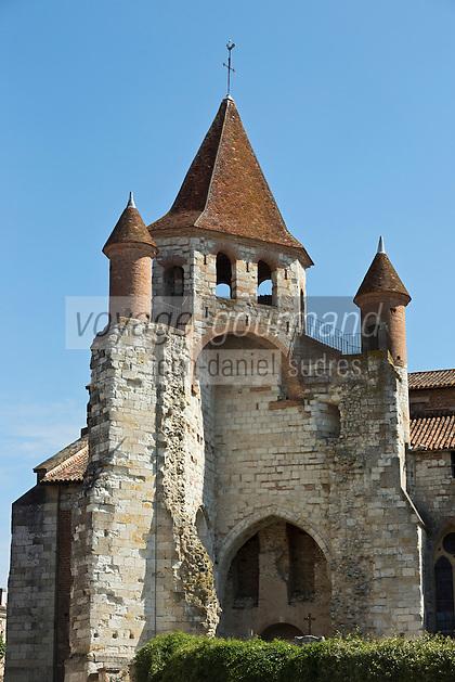 Europe/France/Midi-Pyrénées/82/Tarn-et-Garonne/Auvillar: L'église Saint-Pierre est un ancien prieuré bénédictin des XIIe et XIVe siècles.