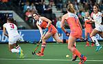 AMSTELVEEN -  Marloes Keetels (Ned)   tijdens Nederland - Spanje (dames) bij de Rabo EuroHockey Championships 2017.  COPYRIGHT KOEN SUYK