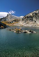 Little Annapurna and Inspiration Lake, Enchantment Lakes, Alpine Lakes Wilderness, Washingto