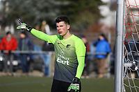 Jannis Weidner (Unter-Flockenbach) - 25.02.2018: SKV Büttelborn vs. SV Unter-Flockenbach, Gruppenliga Darmstadt