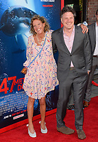 Johannes Roberts &amp; Mother at the Los Angeles premiere for &quot;47 Meters Down&quot; at the Regency Village Theatre, Westwood. <br /> Los Angeles, USA 12 June  2017<br /> Picture: Paul Smith/Featureflash/SilverHub 0208 004 5359 sales@silverhubmedia.com