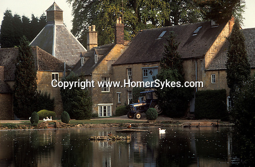 The Village Pub. Donnington Brewery. Near nr Stow on the Wold, Gloucestershire, England.