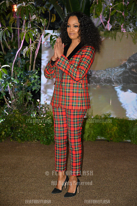 Garcelle Beauvais at the Los Angeles premiere of &quot;Jumanji: Welcome To the Jungle&quot; at the TCL Chinese Theatre, Hollywood, USA 11 Dec. 2017<br /> Picture: Paul Smith/Featureflash/SilverHub 0208 004 5359 sales@silverhubmedia.com