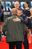 LONDON, ENGLAND - JULY 13: Tom Hardy attending the World Premiere of 'Dunkirk' at Odeon Cinema, Leicester Square on July 13, 2017 in London, England.<br /> CAP/MAR<br /> &copy;MAR/Capital Pictures /MediaPunch ***NORTH AND SOUTH AMERICAS ONLY***