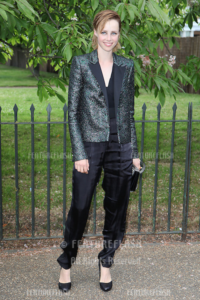 Edie Campbell arriving for the Serpentine Summer Party, at the Serpentine Gallery, Hyde Park, London. 01/07/2014 Picture by: Alexandra Glen / Featureflash