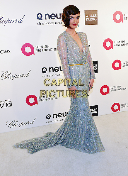 02 March 2014 - West Hollywood, California - Paz Vega. 22nd Annual Elton John Academy Awards Viewing Party held at West Hollywood Park.  <br /> CAP/ADM/CC<br /> &copy;ChewAdMedia/Capital Pictures