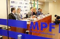 CURITIBA, PR, 30.03.2017 – LAVA JATO – Procuradores da República durante coletiva de imprensa na tarde desta quinta-feira (30) na sede do MPF em Curitiba (PR). (Foto: Paulo Lisboa/Brazil Photo Press)