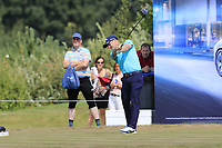 David Horsey (ENG) tees off the 16th tee during Saturday's Round 3 of the Porsche European Open 2018 held at Green Eagle Golf Courses, Hamburg Germany. 28th July 2018.<br /> Picture: Eoin Clarke | Golffile<br /> <br /> <br /> All photos usage must carry mandatory copyright credit (&copy; Golffile | Eoin Clarke)