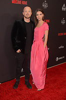 WEST HOLLYWOOD, CA - NOVEMBER 4: Aaron Paul and Emily Ratajkowski at the L.A. Premiere for Welcome Home at The London in West Hollywood, California on November 4, 2018. <br /> CAP/MPI/DE<br /> &copy;DE/MPI/Capital Pictures