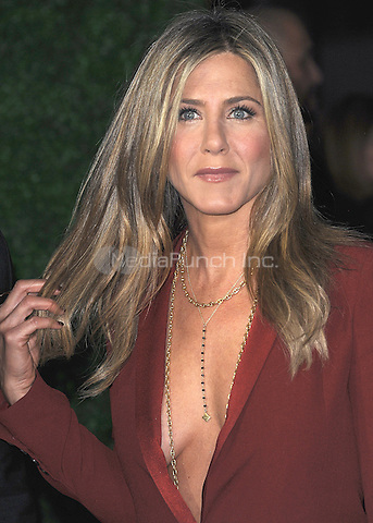 LOS ANGELES, CA - JANUARY 15:  Jennifer Aniston at the 20th Annual Critics' Choice Movie Awards at the Hollywood Palladium on January 15, 2015 in Los Angeles, California. Credit: PGSK/MediaPunch