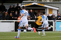 Jack Powell scores Maidstone's second goal during Maidstone United vs Havant and Waterlooville, Vanarama National League Football at the Gallagher Stadium on 9th March 2019