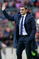 FC Barcelona's coach Ernesto Valverde during La Liga match. March 4,2018. (ALTERPHOTOS/Acero) /NortePhoto.com NORTEPHOTOMEXICO