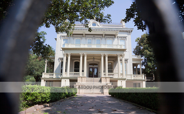 "The Garden District of New Orleans, which is classified as  National Historic Landmark, is known for its historic southern mansions.  In fact, this collection of mansions may be the best preserved in the United States.  Originally the post-civil war mansion of a prominent Louisiana sugar planter, the mansion at 2343 Prytania Street is now the Louise S. McGee School.  Designed by Architect James Freret in 1872, the building reflects the influence of the ""Ecole des Beaux Arts"" in France."